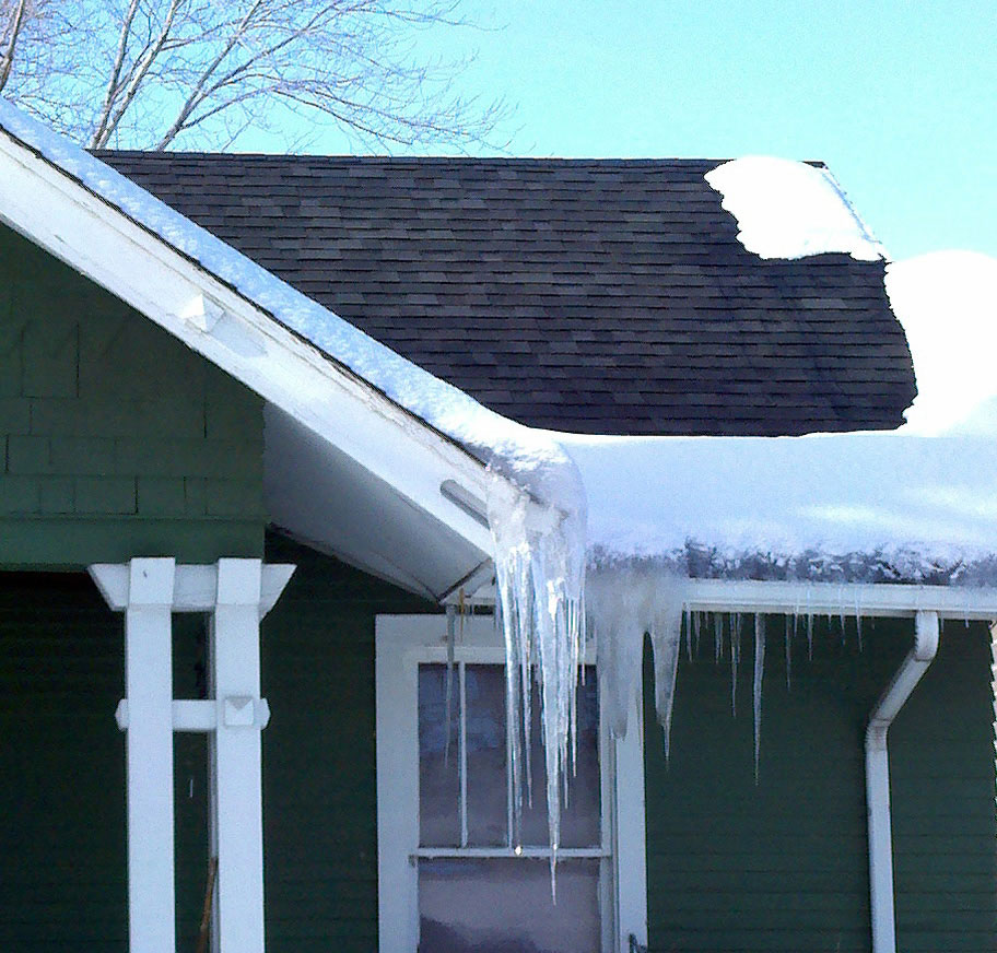 Ice Dams – The Beauty and the Beast