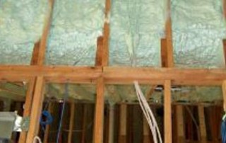 Spray Foam Insulation Installation