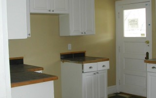 Picture of kitchen before construciton