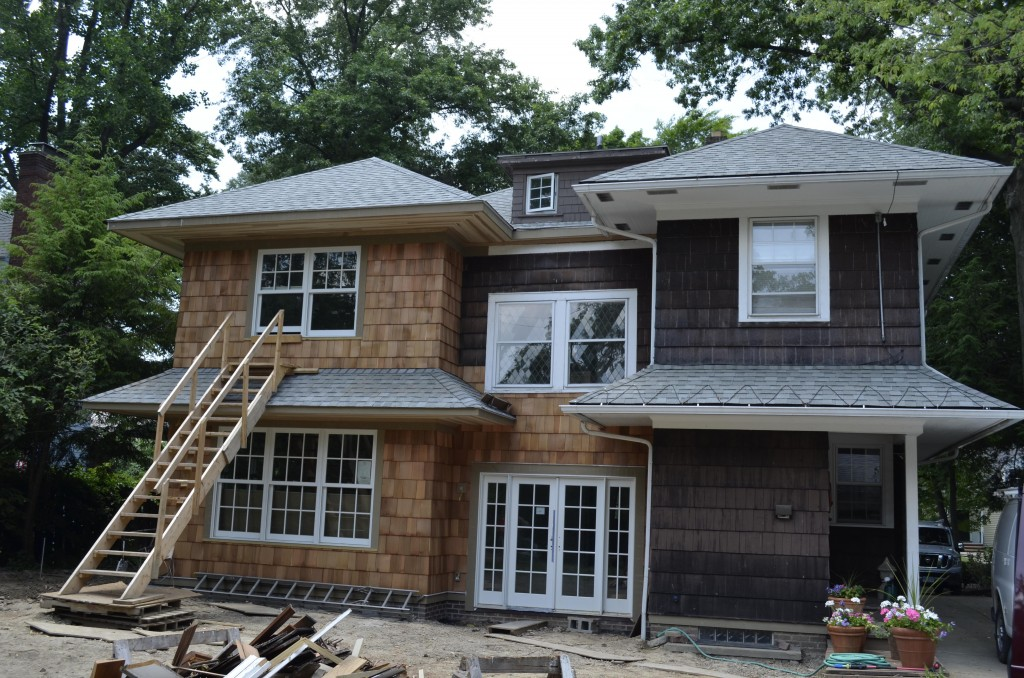 Two-Story Addition on Tudor Road in Cleveland Heights