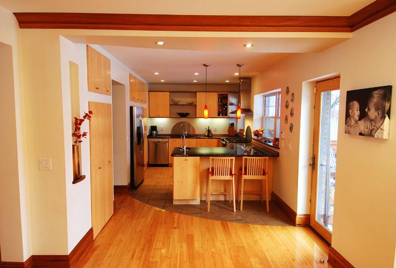 Contemporary danish design kitchen