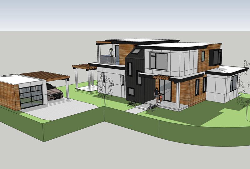 Palo Alto-Modern Residence
